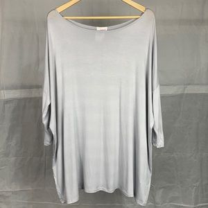 Fantastic Fawn Boat Neck Oversized Top
